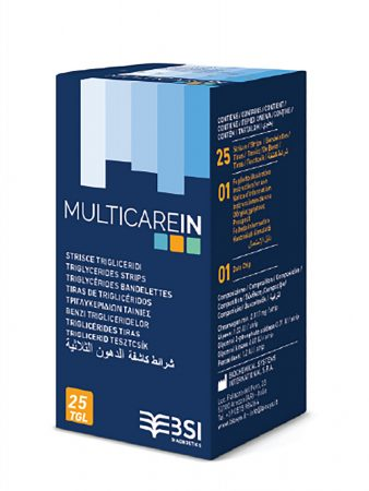 MultiCare IN triglicerid tesztcsík