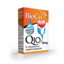 BioCo Vízzel elegyedő Q10 20 mg B1-vitaminnal 30db