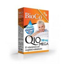 BioCo Vízzel elegyedő Q10 MEGA 100 mg B1-vitaminnal 30db