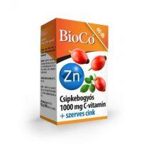 BioCo Csipkebogyós C-vitamin 1000mg + szerves cink 60db