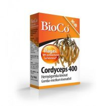 BioCo Cordyceps 400 Hernyógomba kivonat 90db