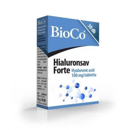 BioCo Hialuronsav Forte 30db