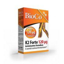 BioCo K2-vitamin Forte 120 µg 60db
