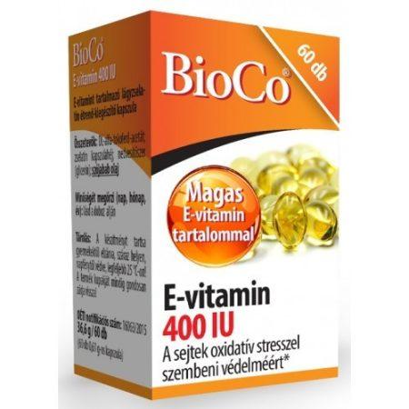 BioCo E-vitamin 400 IU 60db