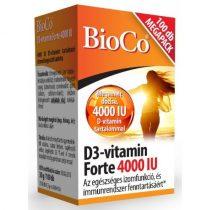 BioCo D3-vitamin Forte 4000 IU 100db