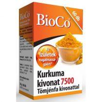 BioCo Kurkuma kivonat 7500 Tömjénfa kivonattal 60db