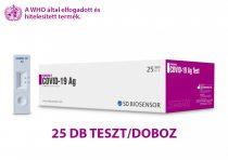 Antigén gyorsteszt – STANDARD Q COVID-19 Ag Teszt