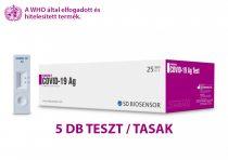 Antigén gyorsteszt – STANDARD Q COVID-19 Ag Teszt 5db