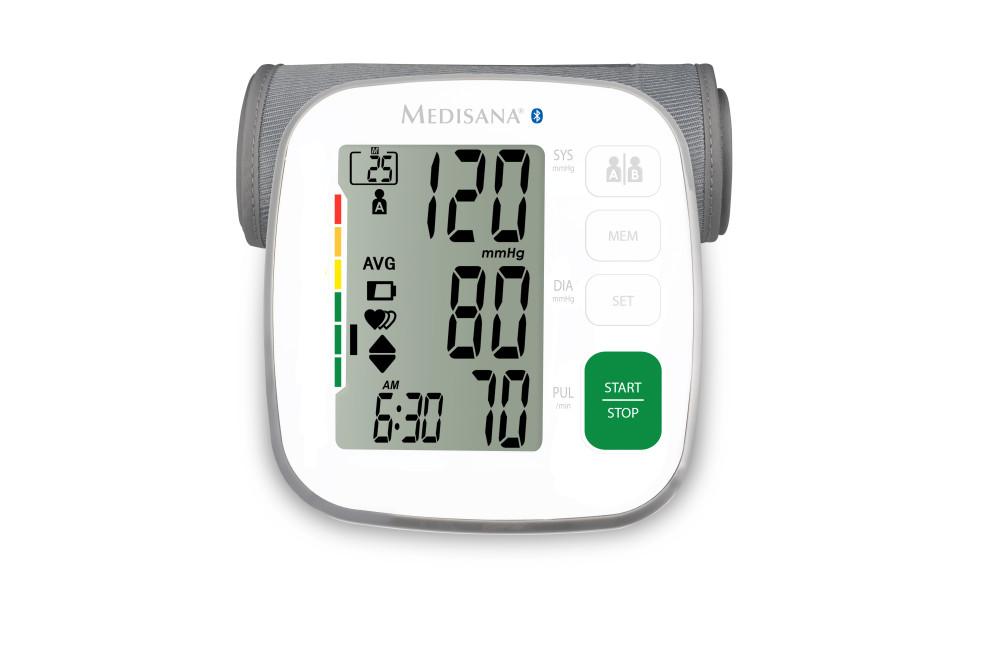MEDISANA BU 540 connect felkaros okos-vérnyomásmérő - Egészs
