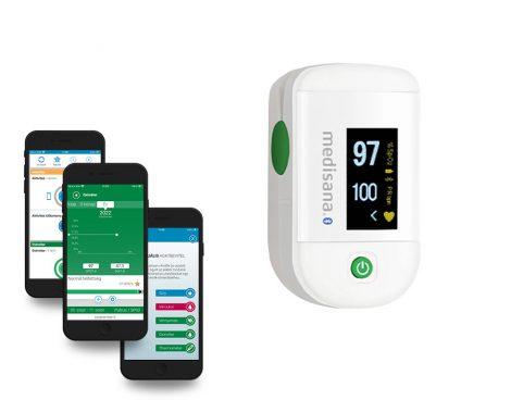 MEDISANA PM 100 Connect Pulzoximéter