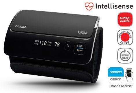 OMRON EVOLV Intellisense felkaros okos-vérnyomásmérő Bluetooth adatátvitellel - Mérjük otthon is!