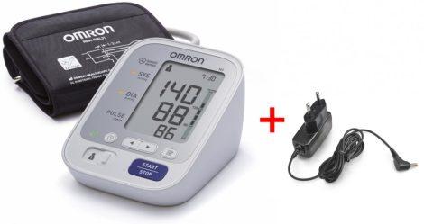 OMRON M3 Intellisense felkaros vérnyomásmérő adapterrel