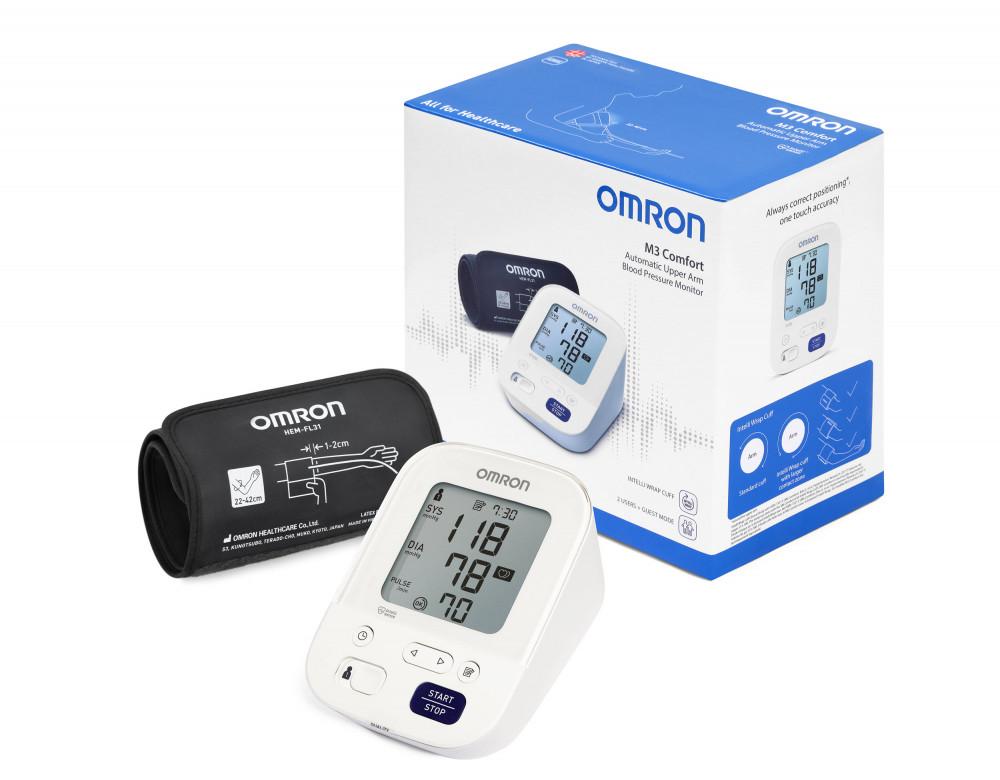 OMRON M3 Comfort Intellisense felkaros vérnyomásmérő - Egész