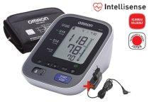 OMRON M6 AC Intellisense felkaros vérnyomásmérő adapterrel