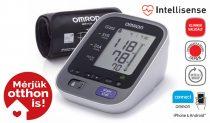OMRON M7 Intelli IT Intellisense felkaros okos-vérnyomásmérő Bluetooth adatátvitellel