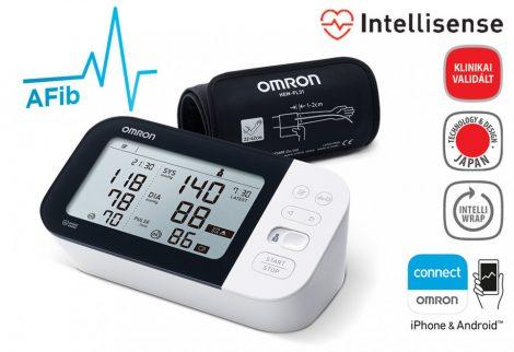 OMRON M7 Intelli IT Intellisense felkaros okos-vérnyomásmérő pitvarfibrilláció (AFib) üzemmóddal - Mérjük otthon is!