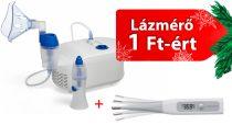 OMRON C102 Total 2 az 1-ben orrzuhanyos inhalátor + OMRON Flex Temp Smart digitális lázmérő 1 Ft-ért