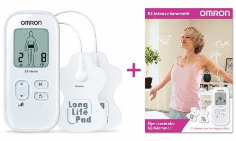 OMRON E3 Intense izom- és idegstimulátor ismertető füzettel