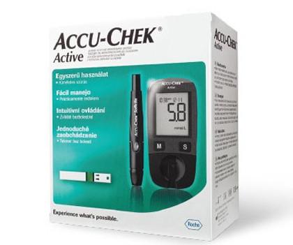 Accu-Chek Active KIT vércukorszintmérő készülék
