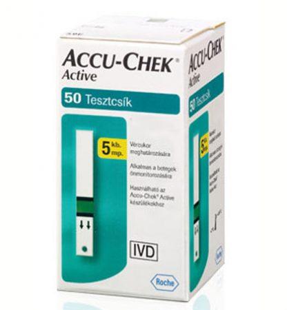 Accu-Chek Active tesztcsík 50db