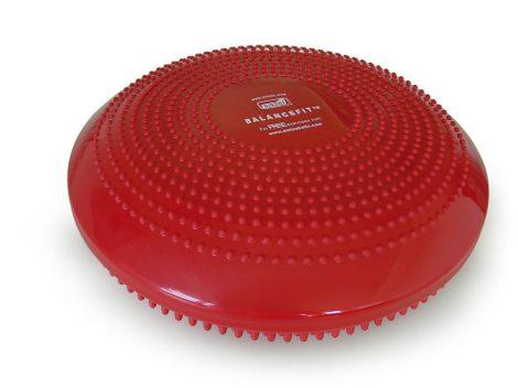 SISSEL Balancefit egyensúlyozó párna (34cm) - piros