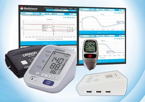 Medistance Vérnyomás, Vércukor, koleszterin, trigliceridszint gondozáshoz készülékcsomag