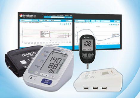 Medistance Vérnyomás, Vércukor gondozáshoz készülékcsomag