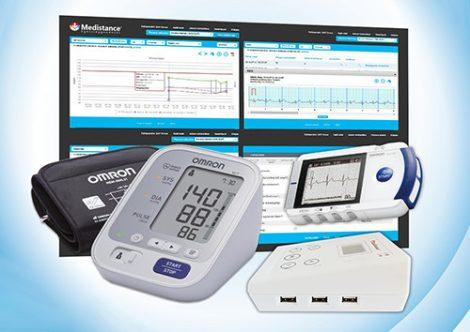 Medistance Vérnyomás, EKG gondozáshoz készülékcsomag