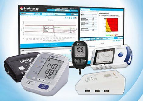 Medistance Vérnyomás, Vércukor, EKG gondozáshoz készülékcsomag