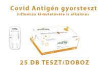 VivaDiagTM SARS-CoV-2/Flu A/Flu B 3 az 1-ben Antigén gyorsteszt 25db - A/B Influenza és Covid vírus teszt